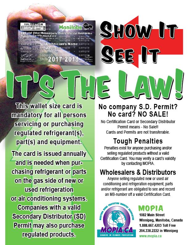 Mopia Manitoba Ozone Protection Association